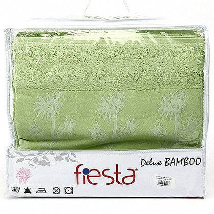 Простынь махровая Bamboo, зеленый, 200*220 (prm-b-zel-200), фото 1