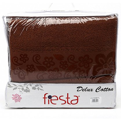 Простынь махровая Belissimo, шоколад (prm-bl-shok-gr), фото 1