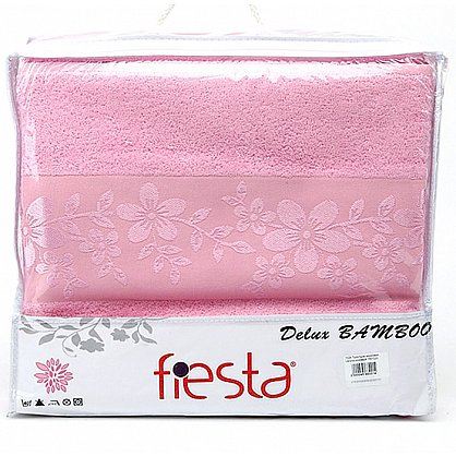Простынь махровая Verona, розовый (prm-v-ros-gr), фото 2
