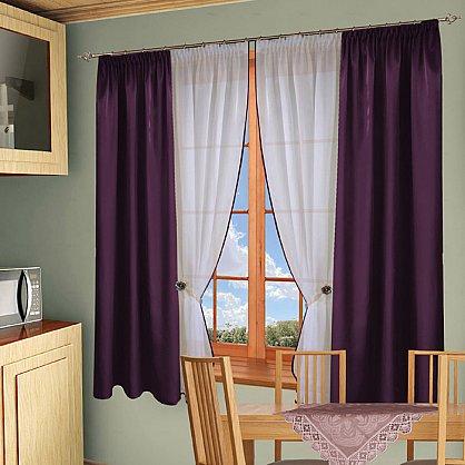 Комплект штор №054 Фиолетовый (rt-100122), фото 1