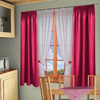 Комплект штор №054 Фуксия (rt-100123), фото 1