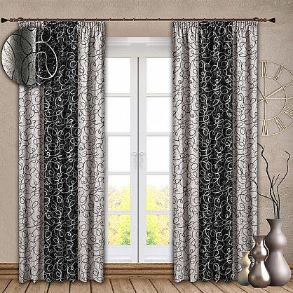 Комплект штор №121 Черный (rt-100139), фото 1