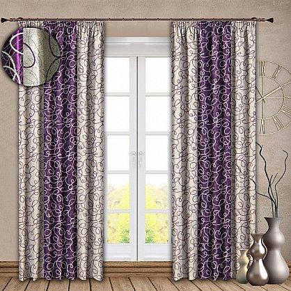 Комплект штор №121 Фиолетовый (rt-100140), фото 1