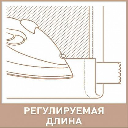 "Комплект штор на тесьме ""Pudra"", дизайн 618-A (kf-200053-A), фото 4"