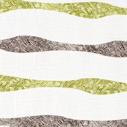 """Римская штора """"Бремен Волна, Зеленый"""", ширина 62 см (037-050-63(62)), фото 3"""