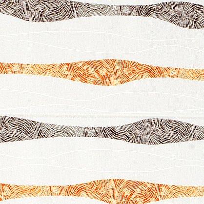 """Римская штора """"Бремен Волна, Оранжевый"""", ширина 68 см (037-060-69(68)), фото 3"""