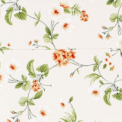 """Римская штора """"Миами рисунок Цветы, Терракот"""" (038-012-gr), фото 4"""