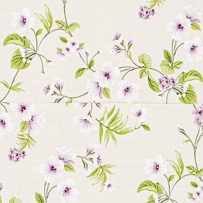 """Римская штора """"Миами рисунок Цветы, Сирень"""" (038-070-gr), фото 4"""