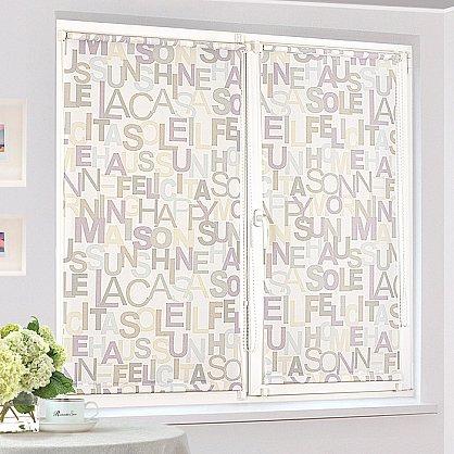 """Рулонная штора """"Сантайм-рисунок Глория Литера-1"""" (2361-gr), фото 2"""