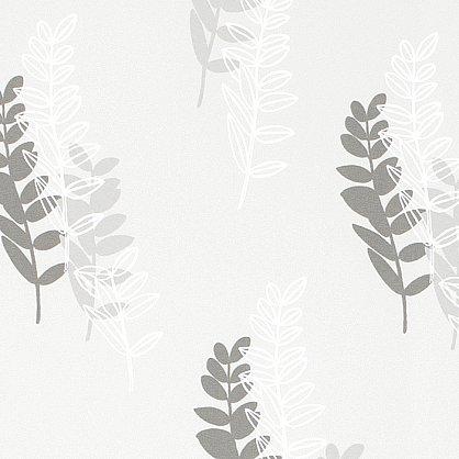 "Рулонная штора ""Сантайм-рисунок Глория Блум Белый"", ширина 34 см (2624-38(34)), фото 3"