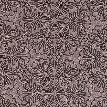 "Рулонная штора ""Сантайм Металлик принт Шоколад"", ширина 43 см (7592-47(43)), фото 4"