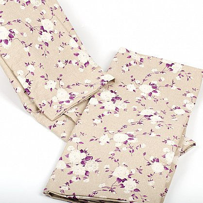"""Комплект для спальни """"Доминика"""", фиолетовые цветы (n-100023), фото 4"""