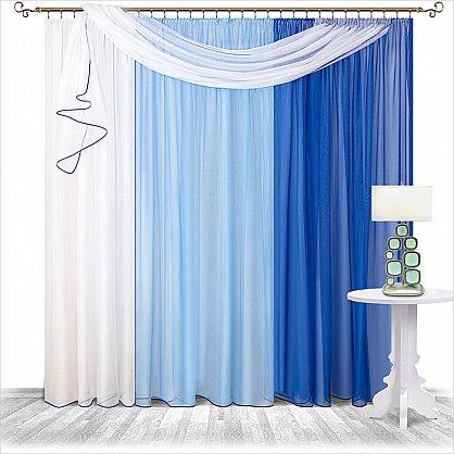 синий-голубой