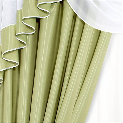 "Шторы ""Рио"", зеленый, 250 см (RO-z), фото 3"
