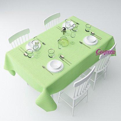 """Скатерть """"Зеленая клетка"""" (s-200099-gr), фото 1"""