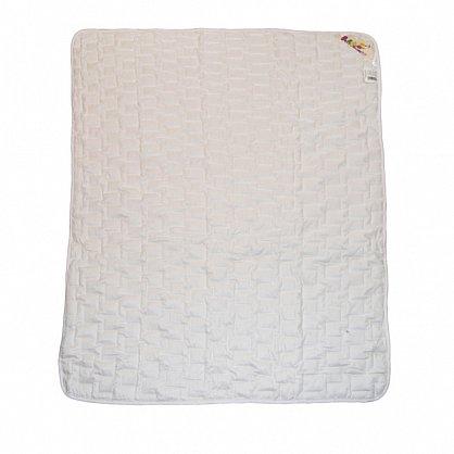 """Одеяло """"Озорной щенок"""", белый, легкое (snt-200004-gr), фото 1"""