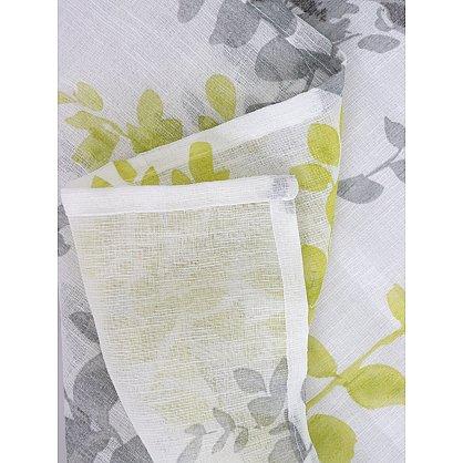 Шторы печать лен Amore Mio RR 1810314-01, горчичный, 300*270 см (tr-1042336), фото 4