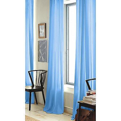 """Тюль """"Престиж - 5 Вуаль"""", голубой, 250 см (Pv-g-5-250), фото 1"""