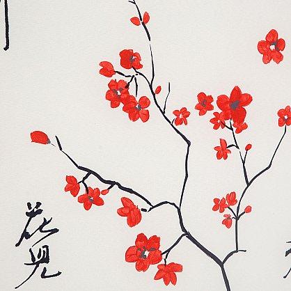 """Рулонная штора ролло """"Япония"""", белый (u-8912-gr), фото 6"""