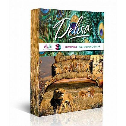 КПБ Евро сатин 'Delisa' КБD-41 рис.15018/15019 вид 1 Нежные розы (277211), фото 2