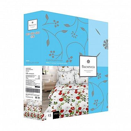 """Комплект постельного белья """"Белые лебеди"""" 5411 (v-100394-gr), фото 2"""