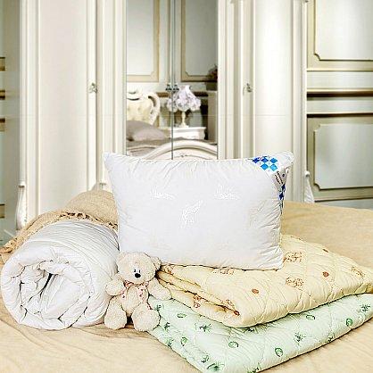 """Одеяло """"Лебяжий пух Люкс"""" тик, полутораспальное (O/65) (O/65), фото 3"""
