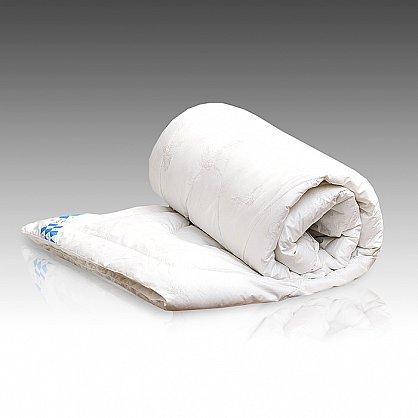 """Одеяло """"Лебяжий пух Люкс"""" тик, полутораспальное (O/65) (O/65), фото 1"""
