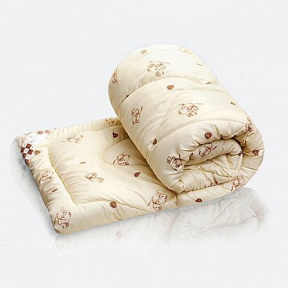 "Одеяло ""Меринос"" Люкс, полисатин (gr-mer-poli), фото 1"