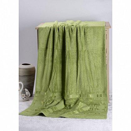 "Полотенце банное ""Bamboo CL"", зеленый (vl-200029-gr), фото 3"