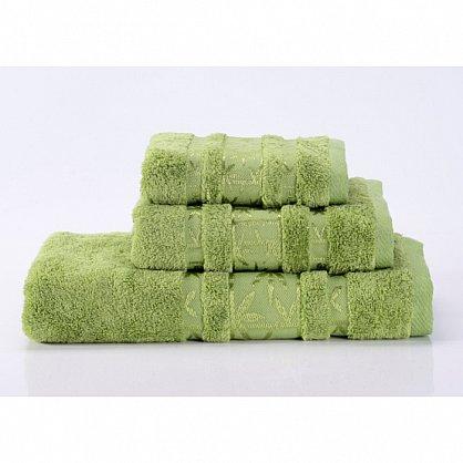 """Полотенце банное """"Bamboo PR"""", зеленый, 50*90 см (vl-100123), фото 1"""