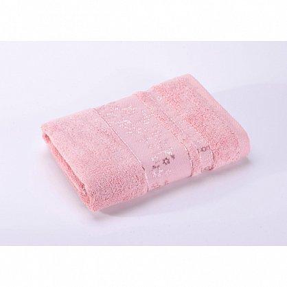 """Полотенце банное """"Emily"""", светло-розовый, 50*90 см (vl-100108), фото 2"""