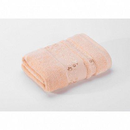"""Полотенце банное """"Emily"""", персиковый, 40*70 см (vl-100110), фото 2"""