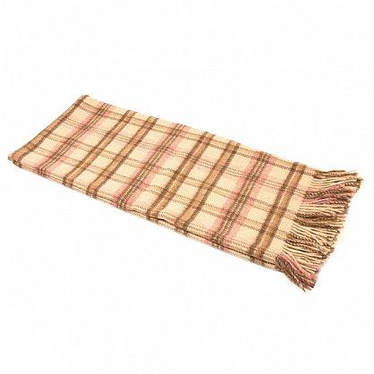 Плед Альпака PP-62, коричневый, розовый, 170*200 см (vl-100143), фото 2