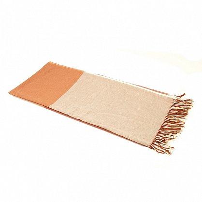 Плед INCALPACA Пима, бежевый, персиковый, коричневый, 170*210 см (vl-100182), фото 2