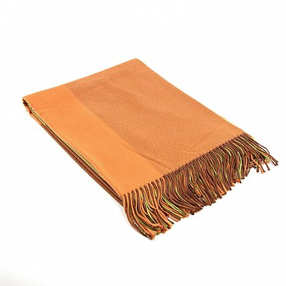 Плед INCALPACA Пима, оранжевый, желтый, 150*200 см (vl-100175), фото 1