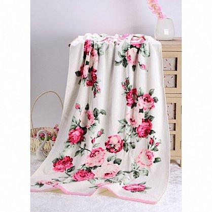 "Полотенце банное ""Rosy"", розовый, 70*140 см (vl-100100), фото 3"