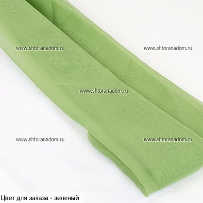 "Шторы  ""Луиза"", зеленый (олива) (LZ-ol), фото 2"
