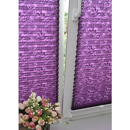 """Штора плиссе """"Фиолетовый"""", ширина 62 см (334-62), фото 3"""