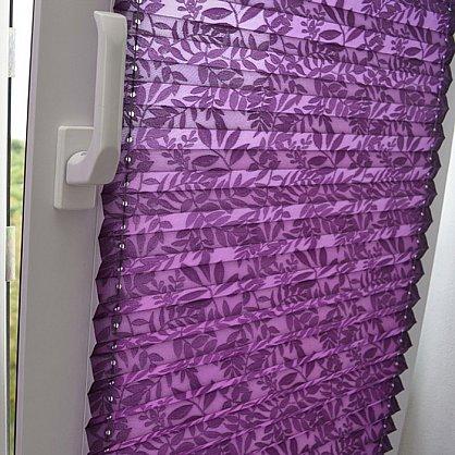"""Штора плиссе """"Фиолетовый"""", ширина 57 см (334-57), фото 4"""