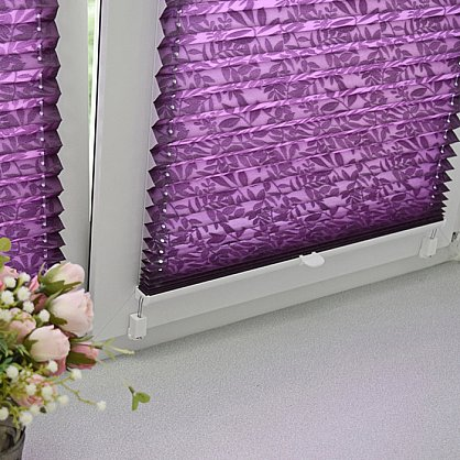 """Штора плиссе """"Фиолетовый"""", ширина 57 см (334-57), фото 5"""