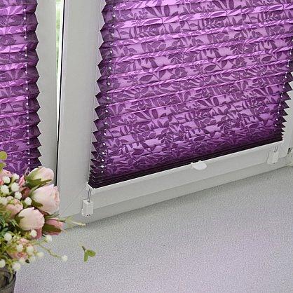 """Штора плиссе """"Фиолетовый"""", ширина 62 см (334-62), фото 5"""