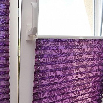 """Штора плиссе """"Фиолетовый"""", ширина 57 см (334-57), фото 7"""