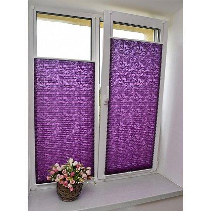 """Штора плиссе """"Фиолетовый"""", ширина 57 см (334-57), фото 2"""