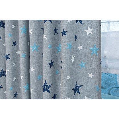 Комплект штор Sky Lonet, синие звезды (azul) (df-102991), фото 4