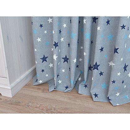 Комплект штор Sky Lonet, синие звезды (azul) (df-102991), фото 6