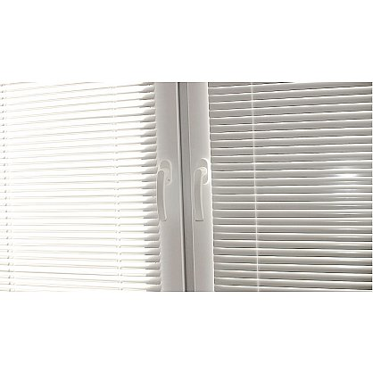 Жалюзи алюминиевые Белый, ширина 120 см (ZH-900-120), фото 5