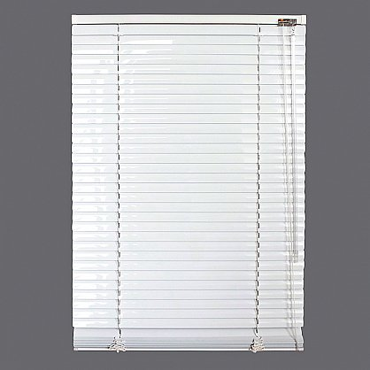 Жалюзи алюминиевые Белый, ширина 60 см (ZH-900-060), фото 2