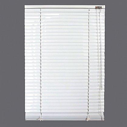 Жалюзи алюминиевые Белый, ширина 80 см (ZH-900-080), фото 2