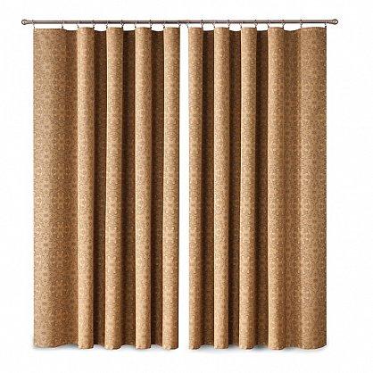 Комплект штор Primavera №1, коричневый (zk-200002-gr), фото 1
