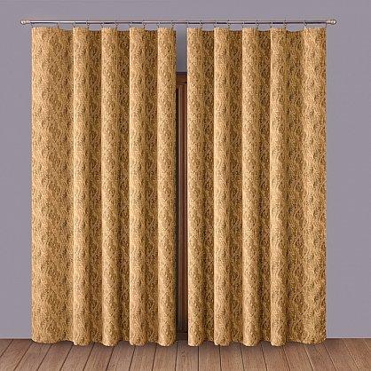 Комплект штор Primavera №1110056, коричневый (zk-100054), фото 1